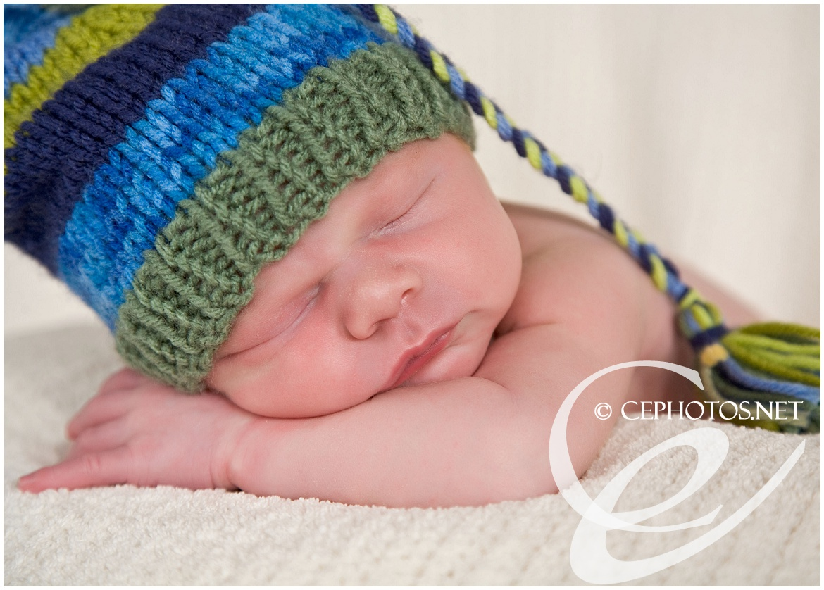 red headed baby by contemporary expressions photography